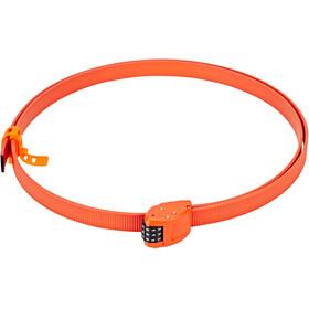 OTTOLOCK Cinch Lock Bike Lock 150 cm orange